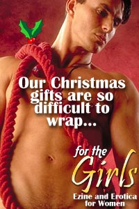 Christmas hunks at For The Girls